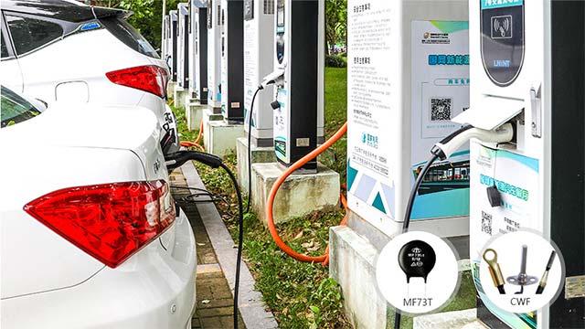 新能源汽车热敏电阻器应用案例!